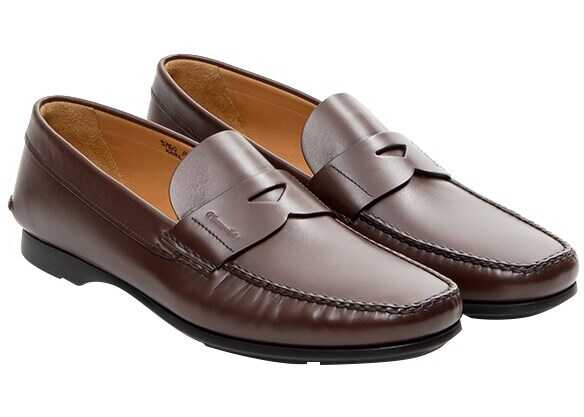 Churchs Leather Loafers Brown