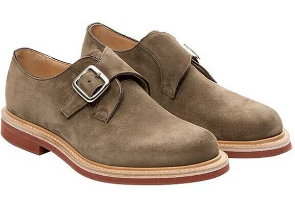 Church's Suede Shoes MOORBY 6196/49 Grey imagine b-mall.ro