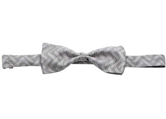 ETRO Silk Bow Tie Grey