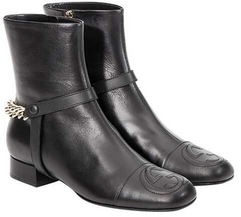 Gucci Lifford Malaga Boots Black