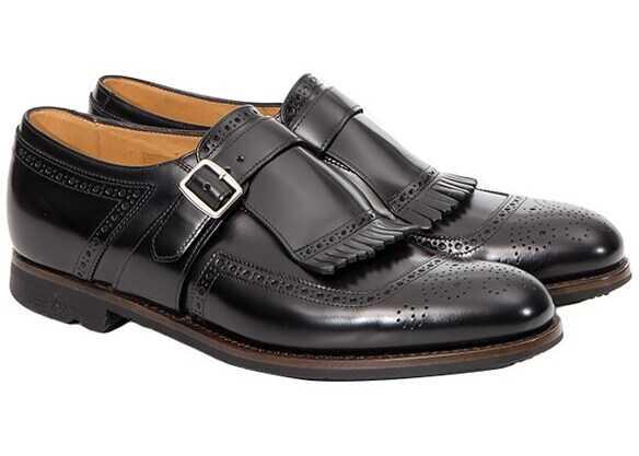 Church's Rois Calf Shoes A1604F ROIS CALF BLACK 1 Black imagine b-mall.ro