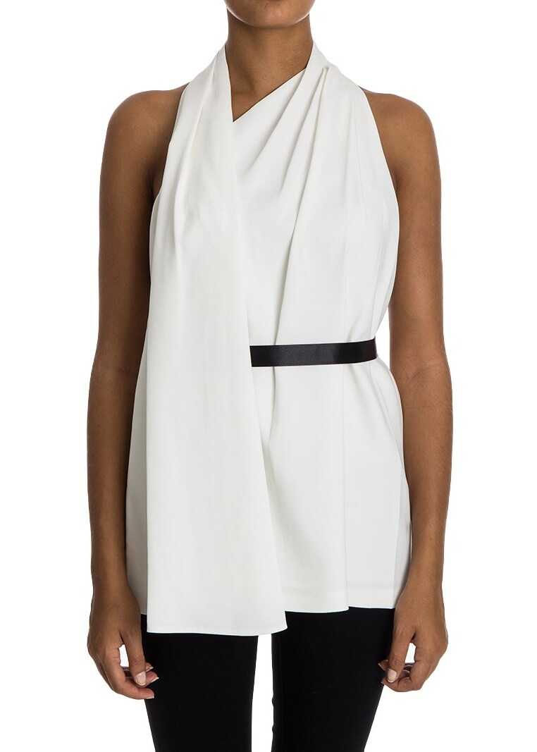 Alexander Wang Top With Drapery White