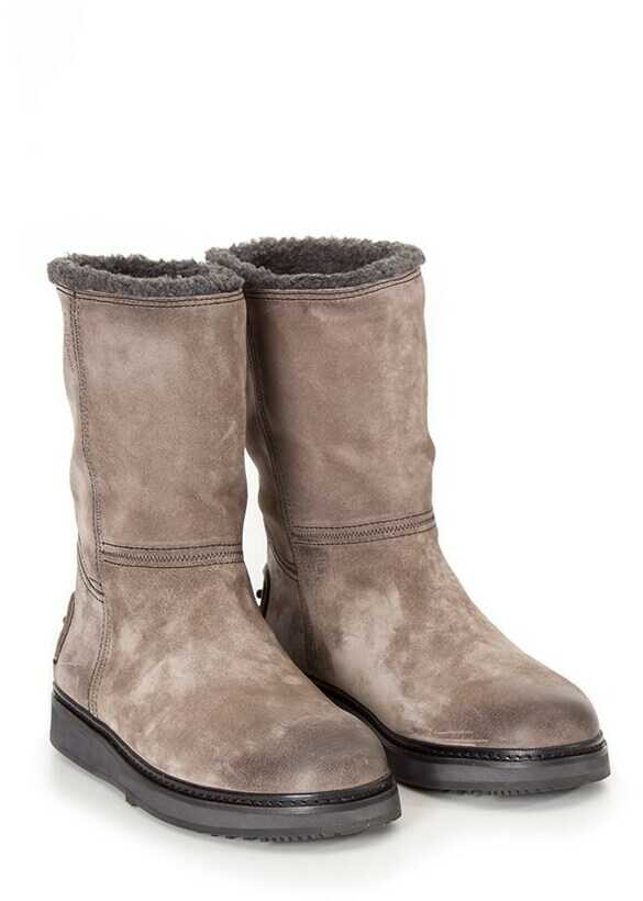 Car Shoe Tall Boots Gray