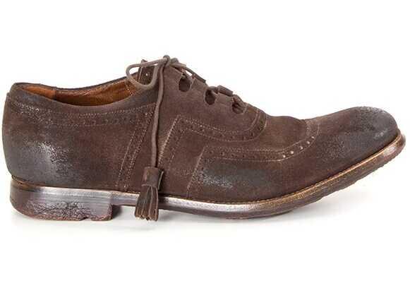 Church's Shanghai Shoes A1603F SHANGHAI Brown imagine b-mall.ro