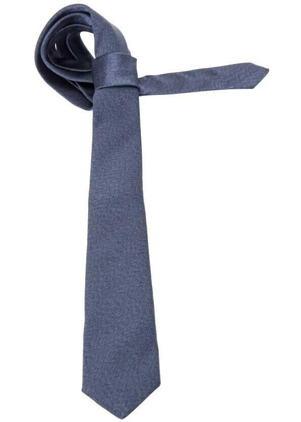 ETRO Silk Tie Blue