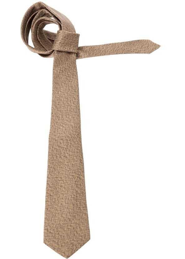 ETRO Silk Tie Bronze