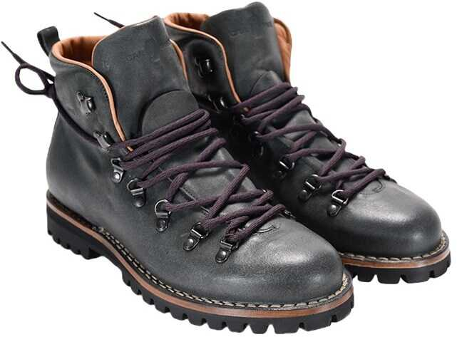 Car Shoe Leather Boots Gray