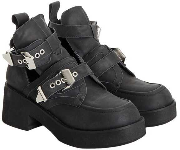 Jeffrey Campbell Leather Shoes Black