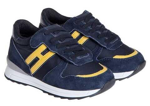 Hogan Rebel Leather Sneakers Blue