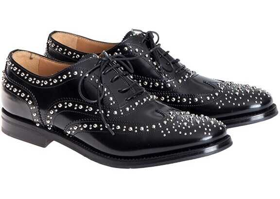 Church`s Burwood Shoes Black