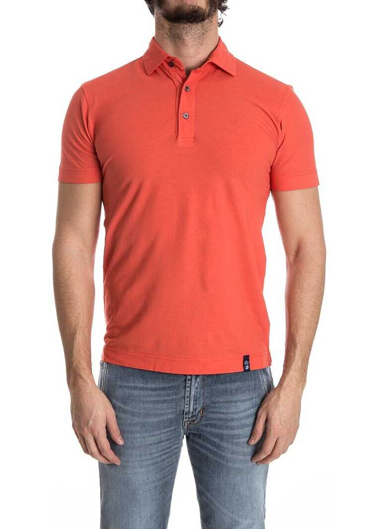 Tricou Polo Barbati Drumohr Cotton Polo Red