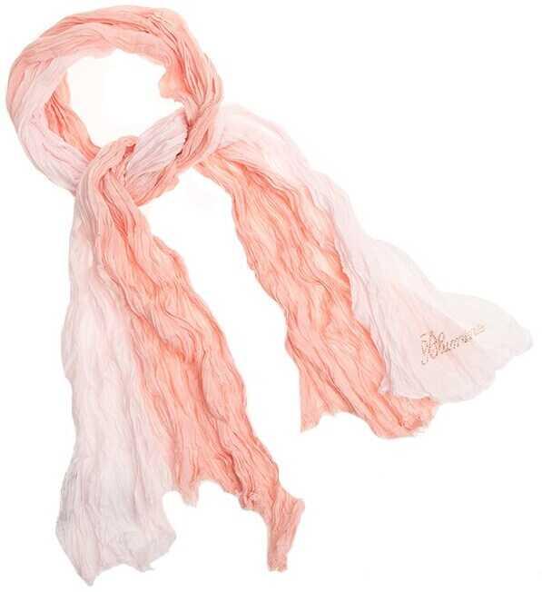 Blumarine Cotton Scarf Pink