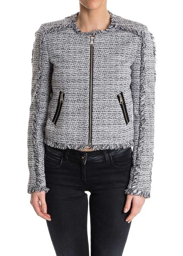 Karl Lagerfeld Cotton Jacket Black