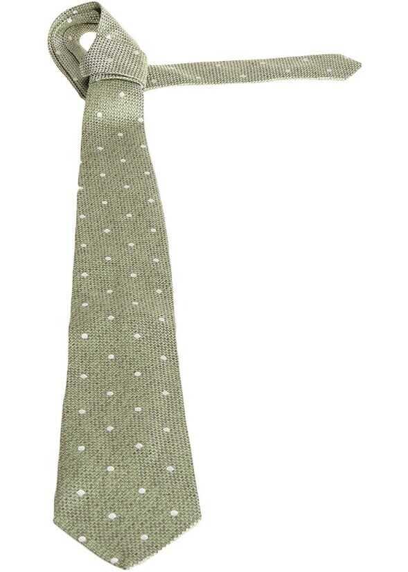 ETRO Silk Tie Green