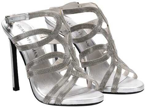 Stuart Weitzman High Heel Sandals Silver
