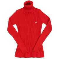 Pulovere casual High Collar Sweater Fete
