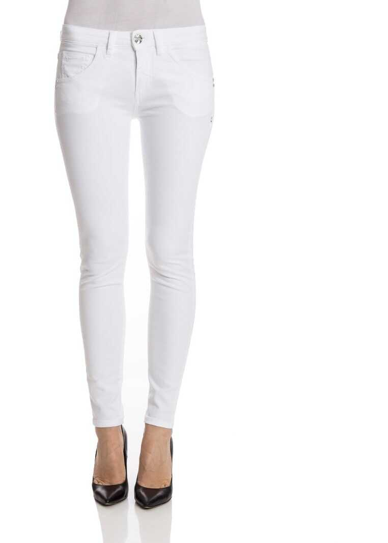 Nine in the morning Cotton 5-Pocket Jeans White