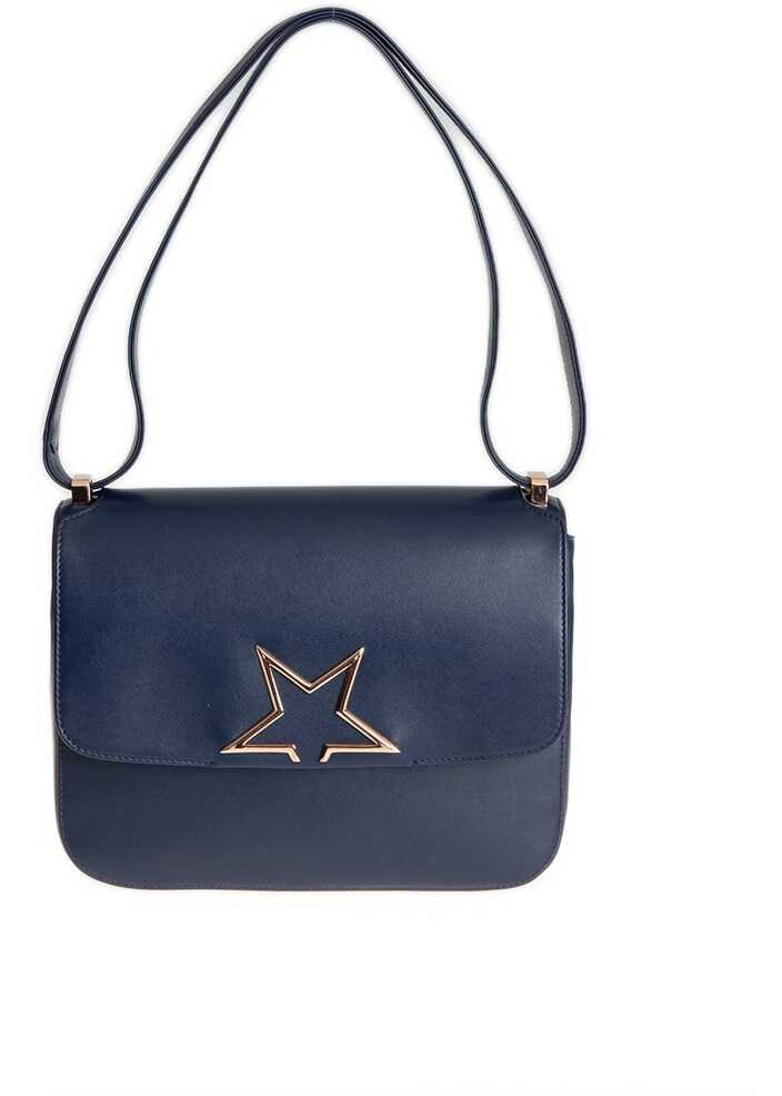 Golden Goose Vedette Midi Bag Blue