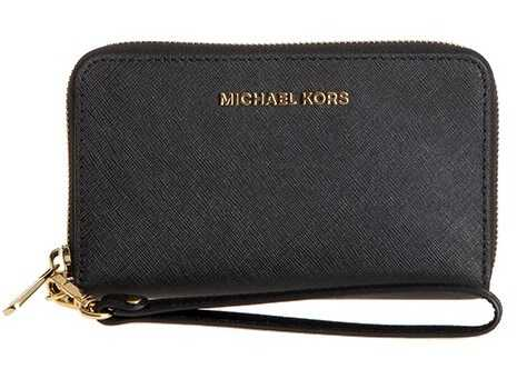 Michael Kors Jet Set Travel Wallet Black