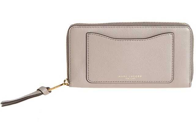 Marc Jacobs Leather Wallet Gray