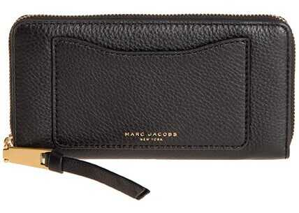 Marc Jacobs Leather Wallet Black