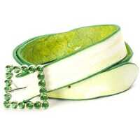 Curele Belt With Green-Tinted Edge Femei