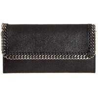 Portofele Adidas by Stella McCartney Continental Black Wallet