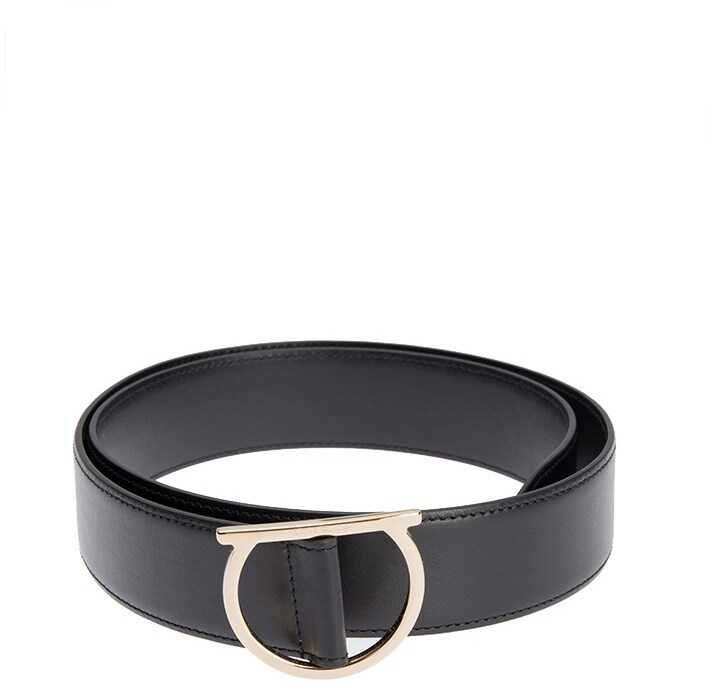 Salvatore Ferragamo Leather Belt Black