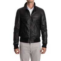 Geci de Puf Leather Down Jacket Barbati