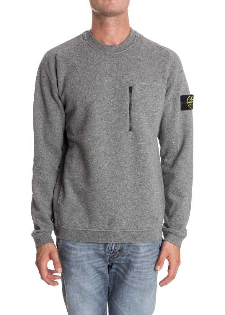 Stone Island Crewneck Sweatshirt Gray