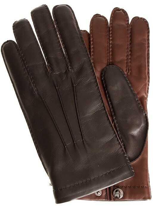 Salvatore Ferragamo Gloves Brown
