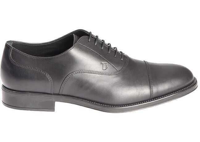 TOD'S Oxford Shoes XXM0RQ00N50D90B999 Black imagine b-mall.ro