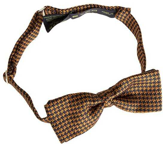 ETRO Silk Bow Tie Brown