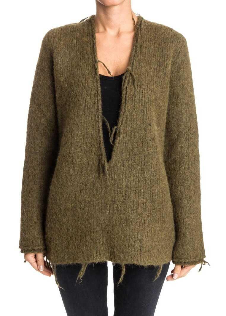 Pulover Femei Maison Margiela Sweater Green