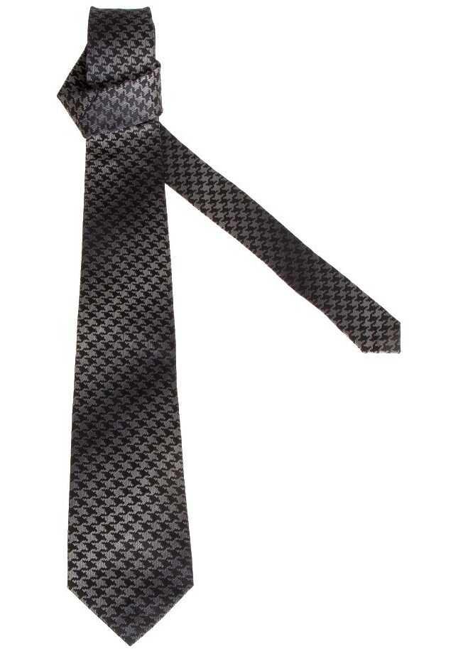 ETRO Silk Tie Gray