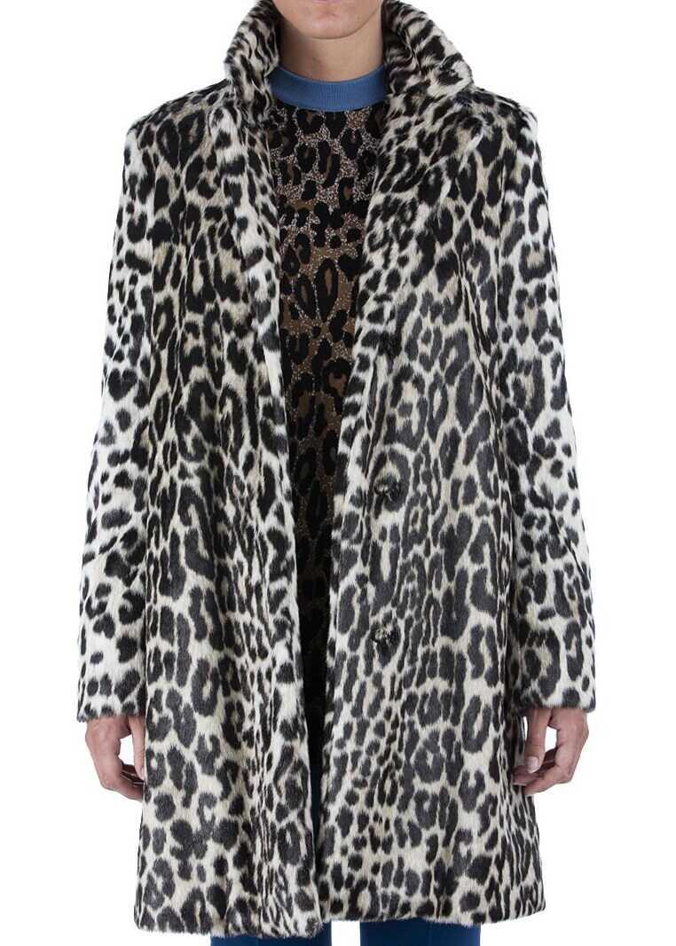 adidas by Stella McCartney Eco-Fur Coat Animal print