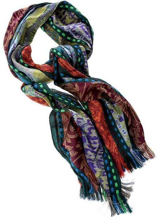 ETRO Wool Blend Scarf Multi