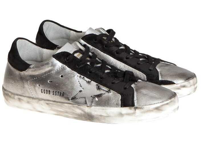 Golden Goose Superstar Sneakers Silver