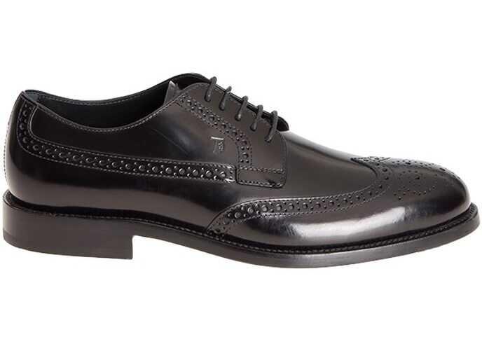 TOD'S Brogue Shoes XXM0XR0O530AKTB999 Black imagine b-mall.ro