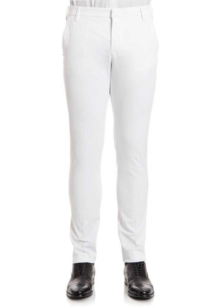 Pantaloni Barbati Entre Amis Trousers White