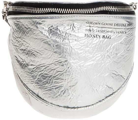 Golden Goose Honey Bag Silver