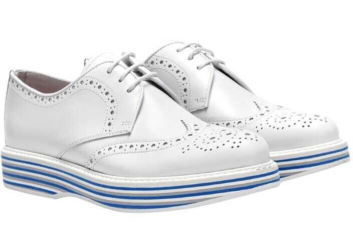 Church's Derby Shoes DE0046 9SN F0ABK WHITE White imagine b-mall.ro