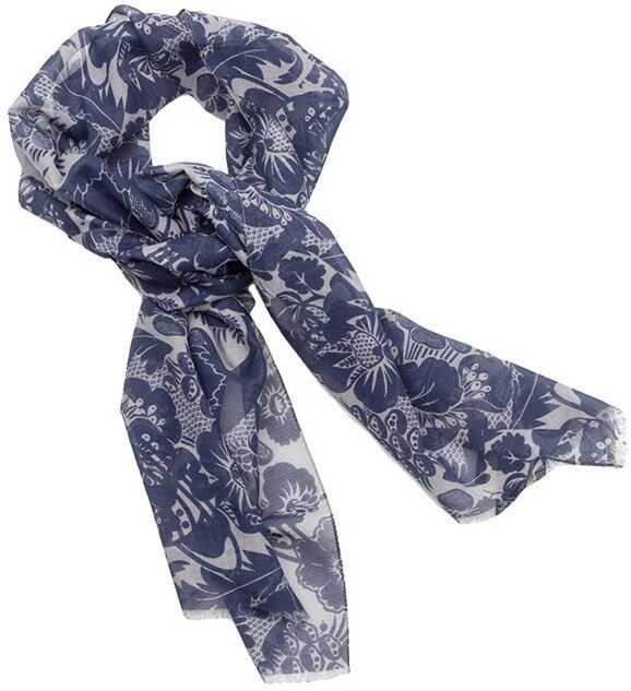 Vivienne Westwood Cotton Foulard Blue
