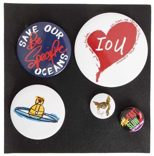 Vivienne Westwood Anglomania 5 Pins Set Multi