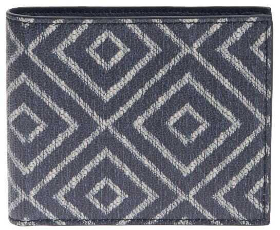 Salvatore Ferragamo Leather Wallet Blue