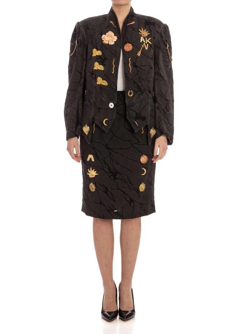 Vivienne Westwood Classic Pencil Skirt (Andreas Kronthaler For Vivienne Westwood Collection) Black