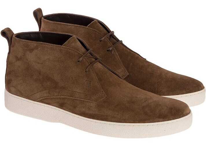 TOD'S Desert Shoes XXM22A0S680RE0S818 Brown imagine b-mall.ro