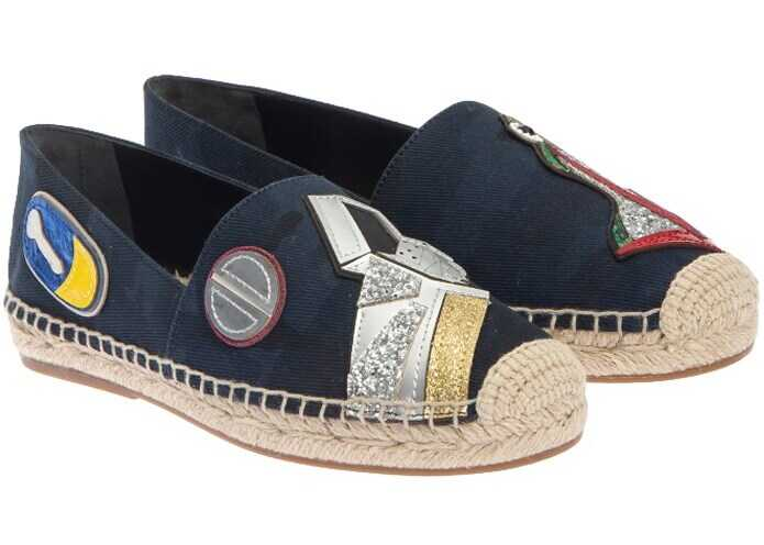 Marc Jacobs Fabric Espadrilles Blue