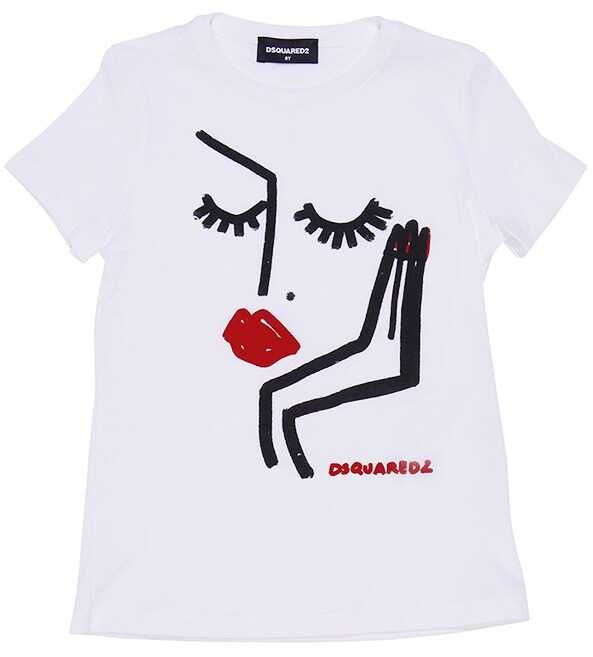DSQUARED2 Cotton T-Shirt White