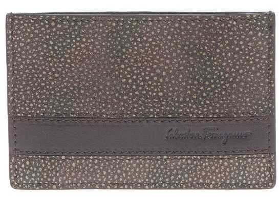 Salvatore Ferragamo Cards Holder Brown
